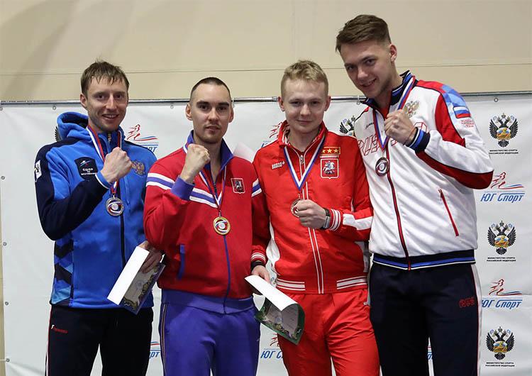 Вениамин Решетников завоевал на Чемпионате России серебряную медаль!