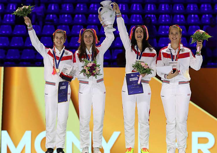 София Позднякова - Чемпионка мира - 2019 года в командных соревнованиях!